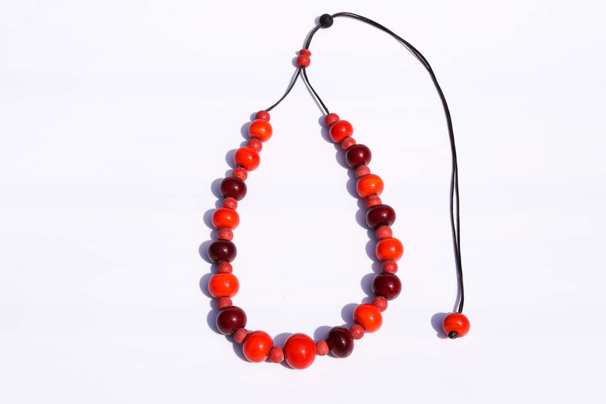 """Murano Berries"" Necklace Shop by Venezia Autentica - Shop by Venezia Autentica - Beautiful and fresh Murano Glass necklace, entirely handcrafted in Venice, Italy. Every bead, handmade through lampworking, is unique, beautiful, and durable."