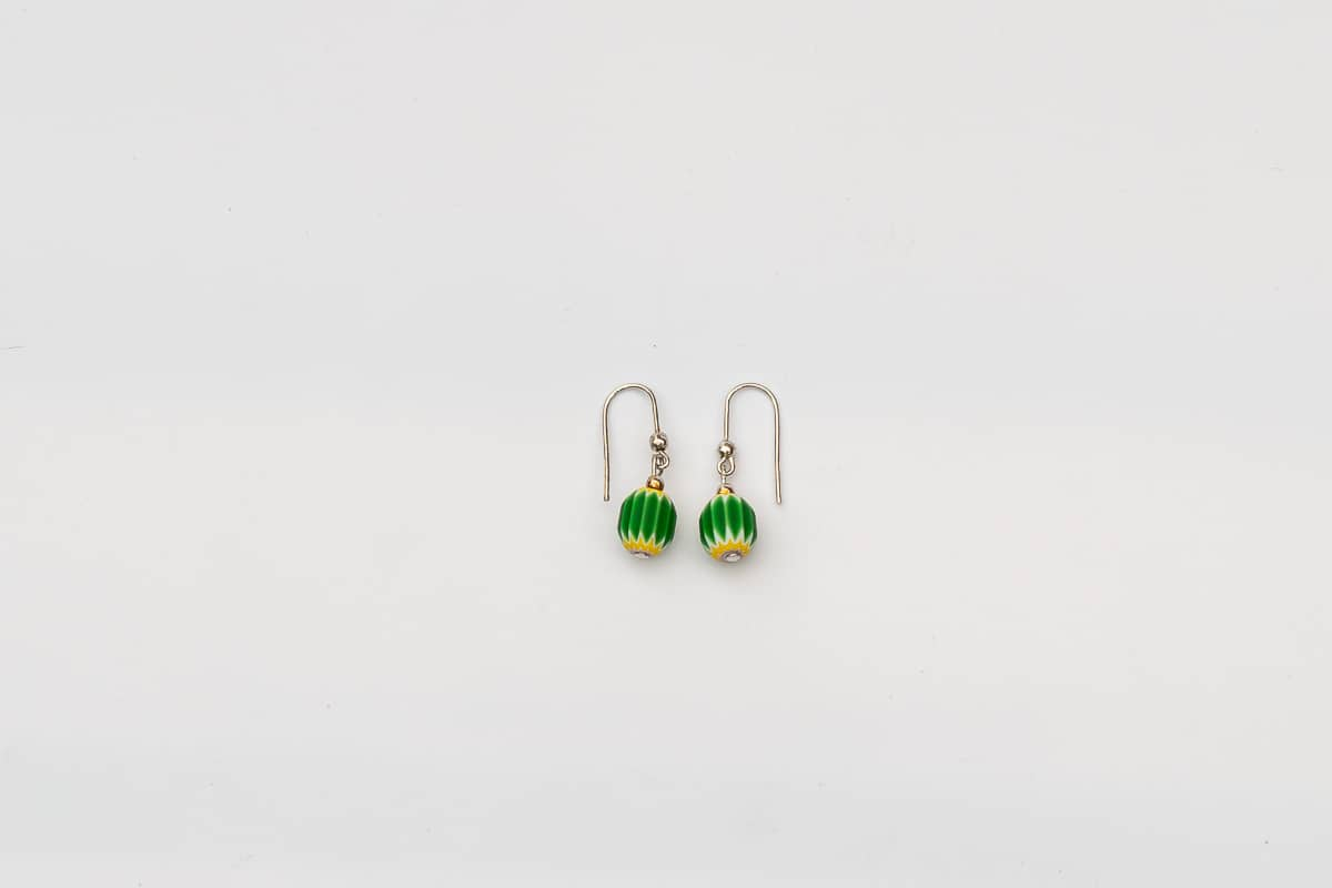 """Rosetta"" Earrings Shop by Venezia Autentica - Shop by Venezia Autentica - Nothing says Murano Glass like these earrings! Handmade in Venice, each boasts an authentic ""Rosetta"", the most famous Murano Glass bead invented 550 years ago."